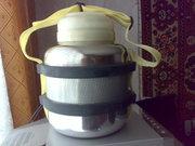 продам термоса темет на 3л. на 4л. и на 6 литров с нержавеющей стали.и армейский железный термос на 12 литров.