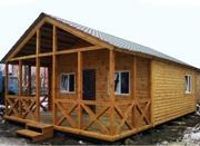 Дачные домики, бытовки из дерева, недорого.