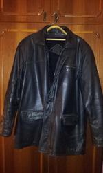 продам кожанную куртку с натуральной подстёжкой р-56.рост-5.