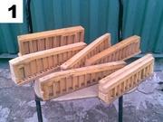 Резонаторы для гармони,  баяна,  аккордеона.