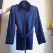 куртка классическая с искуственным воротником
