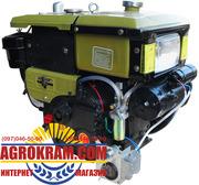 Одноцилиндровый  двигатель ДД190ВЭ на мотоблок,  трактор