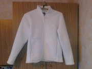 куртка белая с мехом 48 р.