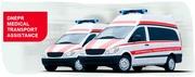 ДнепрМедикал - медицинская перевозка больного из Черновцов в Ужгород