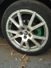 Диски на Skoda Octavia RS