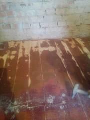 Как снять слои краски с деревянного пола - без пыли. Киев.
