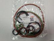 Комплект резиновых уплотнителей на двигатель ISUZU