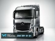 Запчастини до вантажних автомобілів Mercedes-Benz