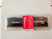 Память ОЗУ Kingston 8 GB DDR4 2933MHz HyperX Fury Black HX429C17FB2/8