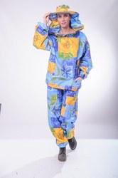 Костюм бджоляра(брюки + куртка + маска класична). Бязь кольорова.