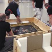 Профессиональное изготовление специальных коробов и упаковка картин