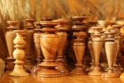 Деревянный подсвечник для тонкой церковной свечи,  отличный подарок